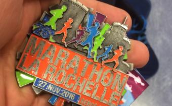 La Rochelle. Dernière étapes marathon de l'année 2016.